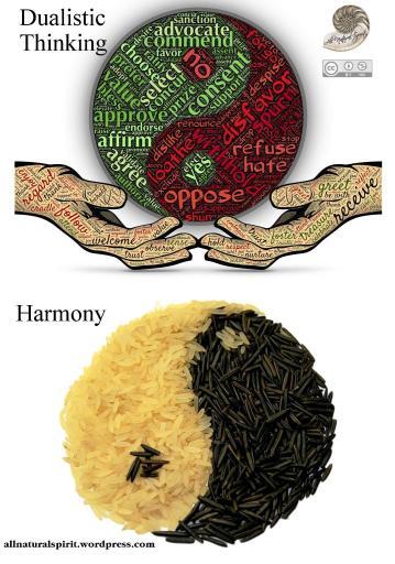 Dualistic, Thinking, Harmony, Yin and Yang All Natural Spirit allnaturalspirit.wordpress