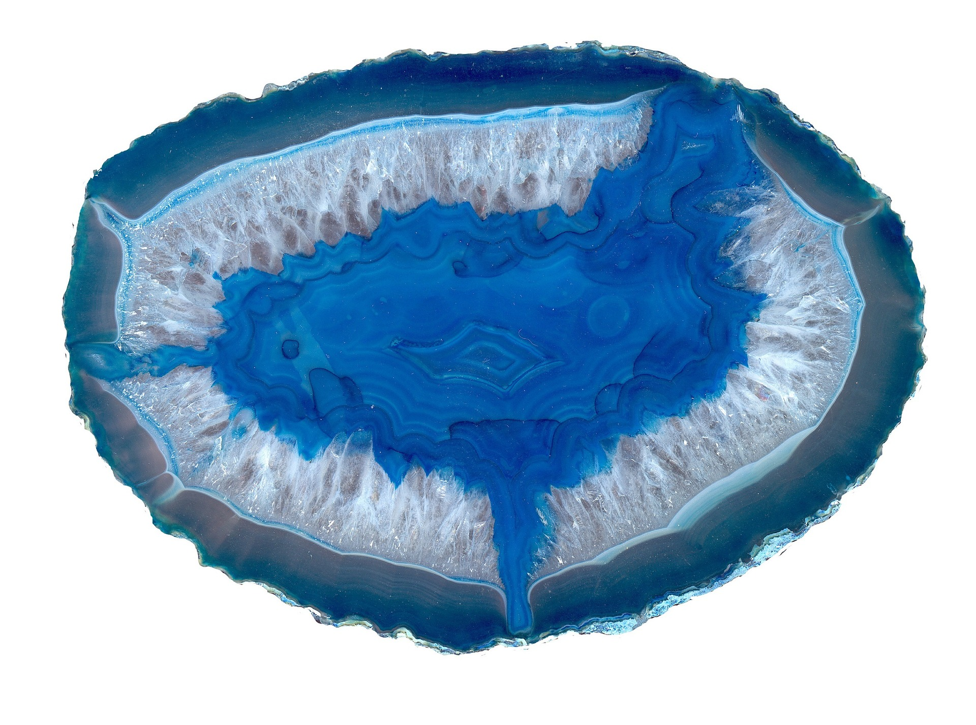 Free, Download, Discreet Evil Eye Digital Protection Ward Blue Agate Geode 1
