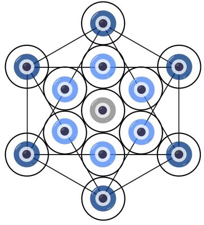 Free, Download, nazar, metatron's cube, protection, protective, symbol, evil eye, digital, ward, version 2