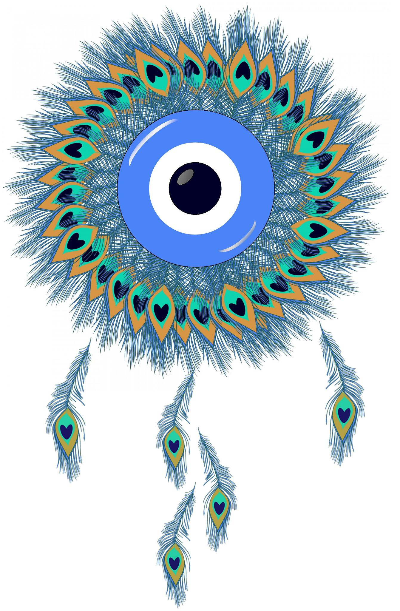 Free, Download, nazar, dream catcher, protection, protective, symbol, evil eye, digital, ward