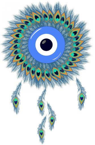nazar, dream catcher, protection, protective, symbol, evil eye, digital, ward