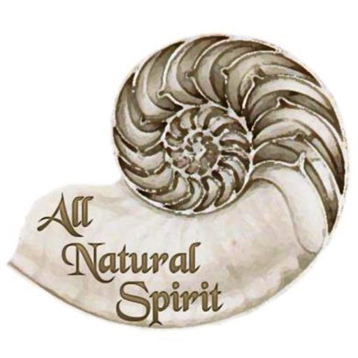 All Natural Spirit, allnaturalspirit.wordpress.com, nautilus, logo, website, blog