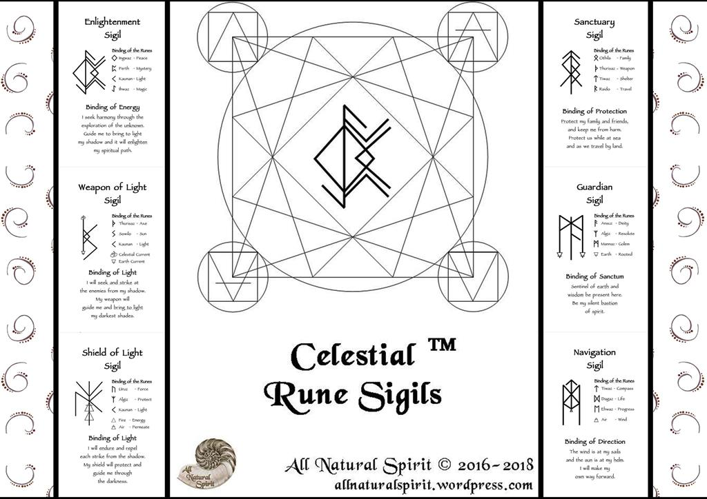 Celestial Rune Sigils - The Metaphysician's Toolbox