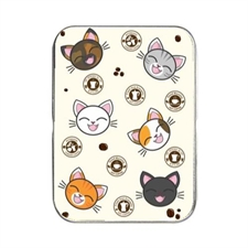 MakePlayingCards, Custom, Design, Oracle, Poker, Card, Tin, Cats, Coffee, Cute, Cream, Beige, Beans, Pot, Stamp, White, Black, Tortie, Ginger, Calico, Gray