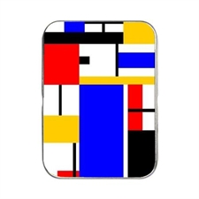 MakePlayingCards, Custom, Design, Oracle, Poker, Card, Tin, Art, Red, Black, Yellow, White, Blue, Square, Geometry