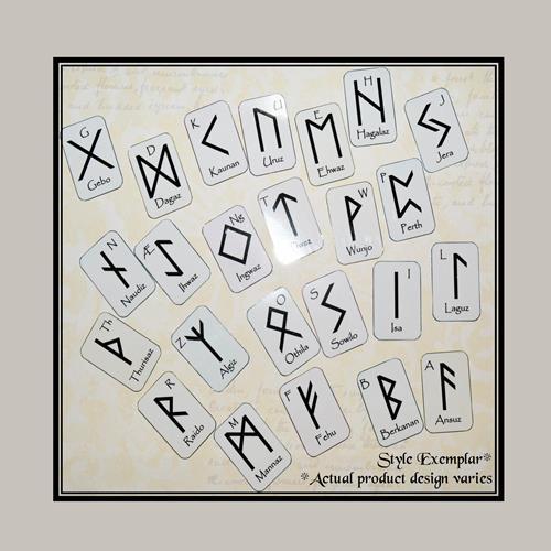 Elder Futhark Runes Mini Oracle Deck