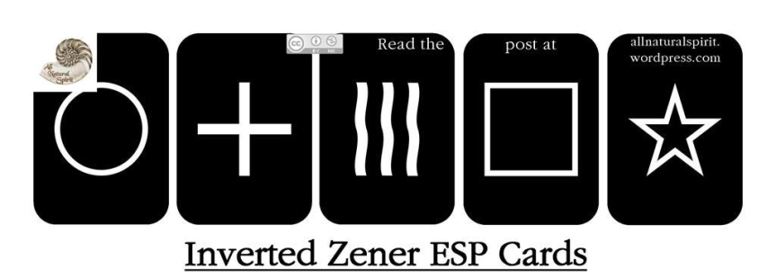 Zener Inverted Cards Deck Poker Pocket Size Invert Unique Unmarked