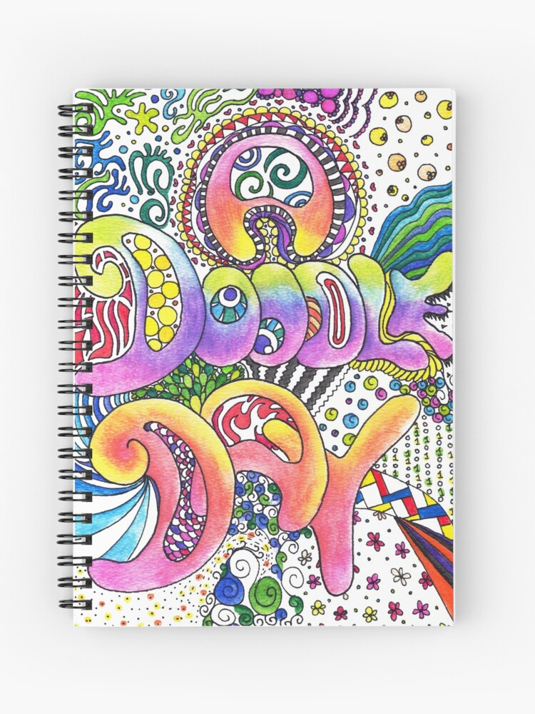 A Doodle Day Spiral Notebook