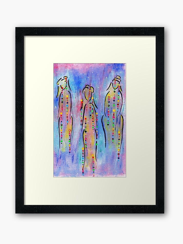 Spirit Healers Wise Women Framed Artwork
