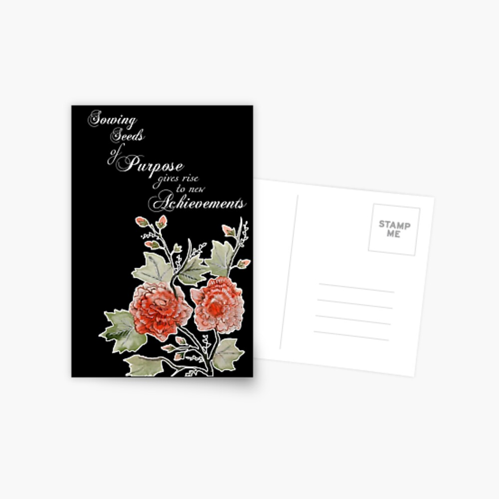 asian chinese japanese watercolor watercolour flowers flora floral botanical quote saying text typography words motivational inspirational encouragement spiritual for her wife daughter sister birthday graduation exam brush minimalism minimalist zen meditation