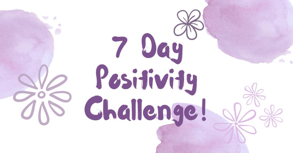 All Natural Spirit, 7 Day Positivity Challenge, Grateful, Gratefulness, Day 5, allnaturalspirit.wordpress.com, mindfulness, typography, flowers, purple