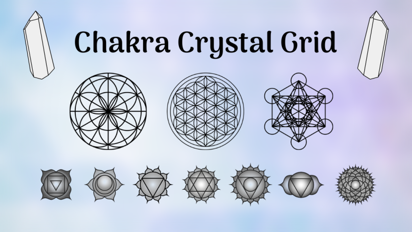 Chakra, Sacred Geometry, Crystal Grid, All Natural Spirit