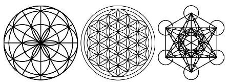 Sacred Geometry, Seed of Life, Flower of Life, Metatron's Cube