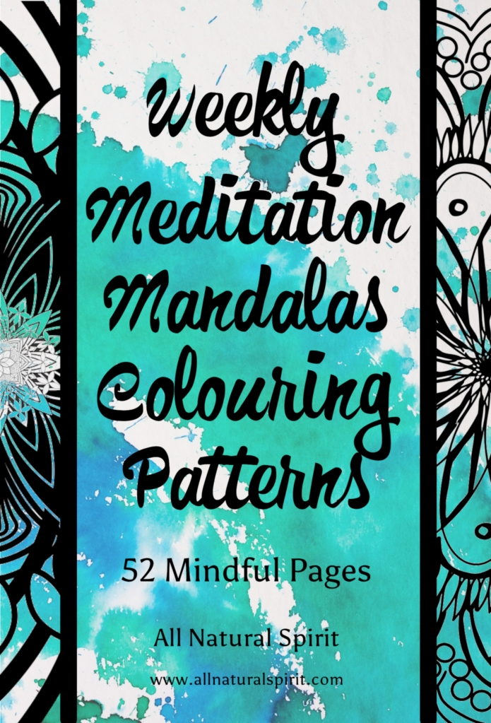 Weekly, Meditation, Mandalas, Colouring, Coloring, Mindful, Pages, Adult coloring book, Adult colouring book, stress management, art therapy, patterns